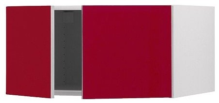 AKURUM Top cabinet to refrigerator modern-kitchen-cabinetry