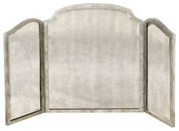 Samantha Tri-View Dressing Mirror transitional-furniture