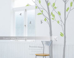 Wall Decor Vinyl Sticker Graphic Tree 11 By Sweet Wall modern decals