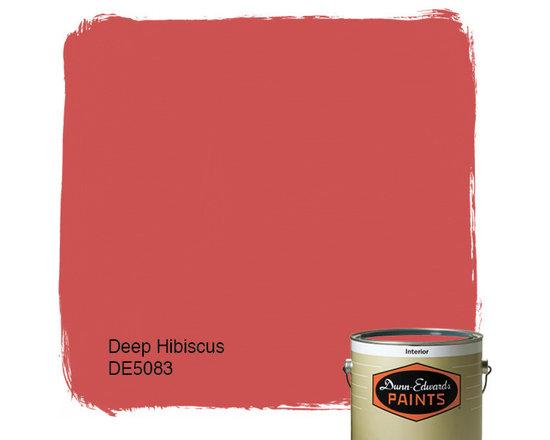 Dunn-Edwards Paints Deep Hibiscus DE5083 -