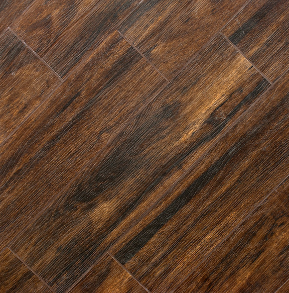 Botanica Teak Wood Plank Porcelain Modern Wall And Floor Tile Other Metro By Tile Stones
