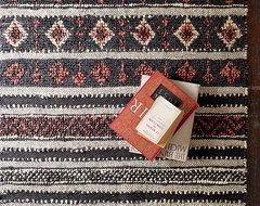 New Tribal Jute Rug modern-rugs