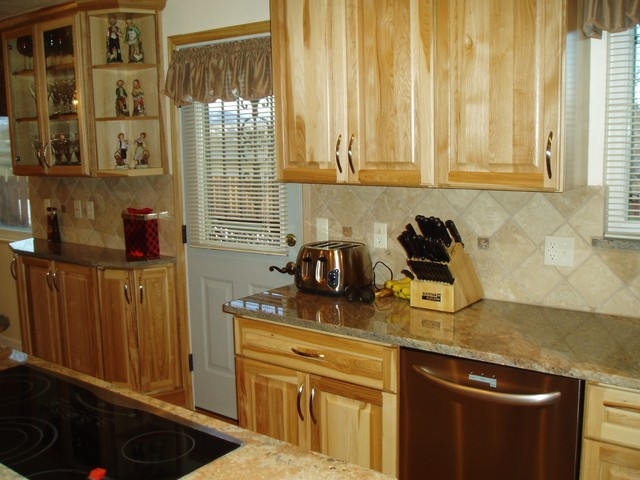 Back Counter traditional-kitchen