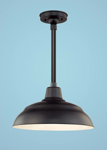 Warehouse Outdoor Pendant - traditional - outdoor lighting - - by ...