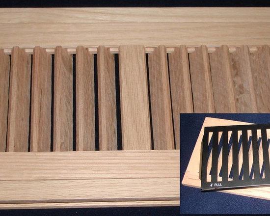 Wood Vents - Ridgefield New Hi-Output Flush Vent with optional sliding damper.