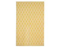Facet Cream/Citrine Rug eclectic-rugs