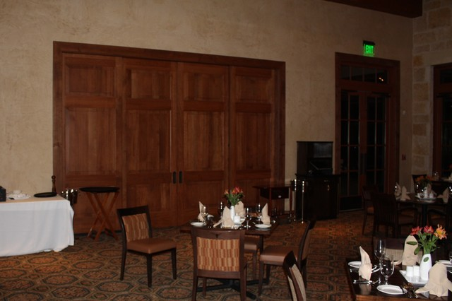 UT Golf Clubhouse traditional-interior-doors