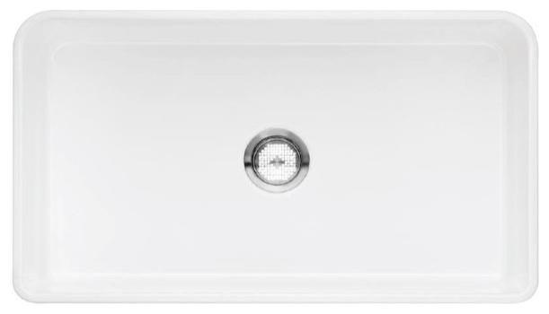 Blanco Cerana 33 Front Apron Reversible Sink, White Matte (518541 ...