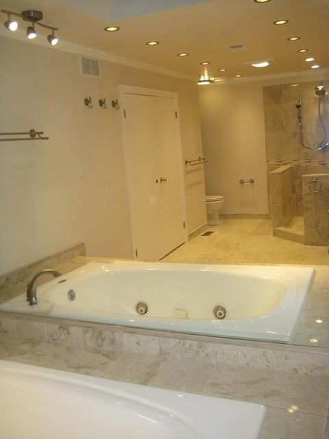 Perlato beige marble bathroom modern bathroom philadelphia by stonemar natural stone Bathroom design centers philadelphia