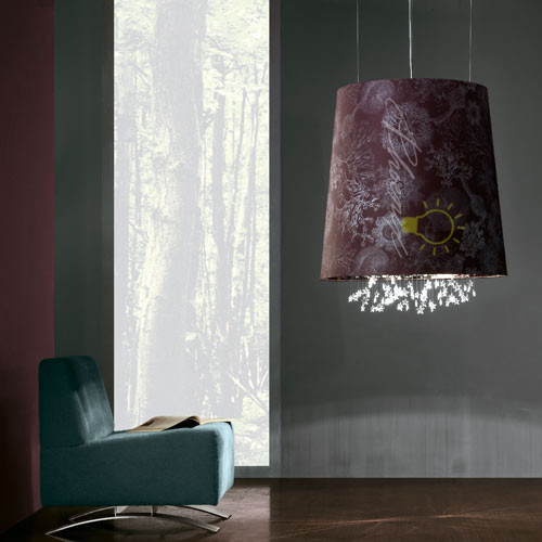Marini Round Suspension Light modern