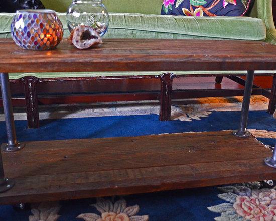 Reclaimed Wood Coffee Table - Reclaimed Things