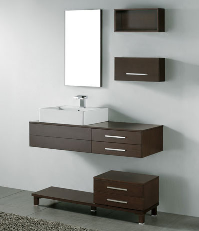 Floating Vanity Unit : Floating Bathroom Vanities contemporary-bathroom-vanity-units-and-sink ...