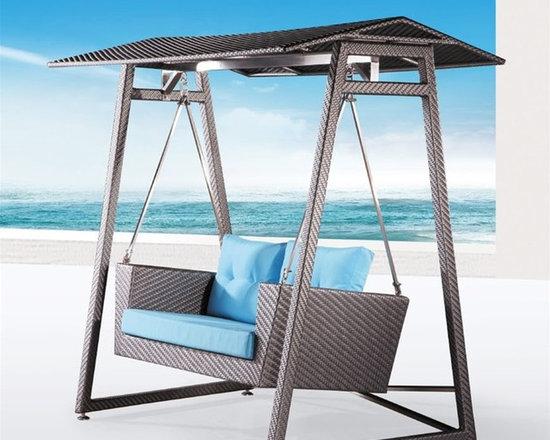Palms Signature Rattan Hammock - This stunning hammock will make you wish it was summer all year long!