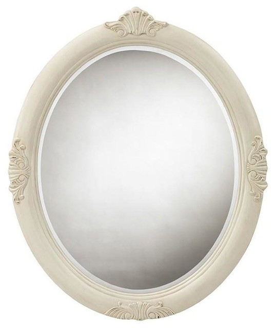 Home Decorators Collection Mirrors Winslow 37 In L X 30 In W Oval Decorative Contemporary