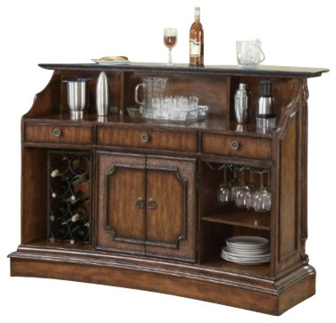 Clarendon Traditional Bar by Coaster contemporary-wine-racks