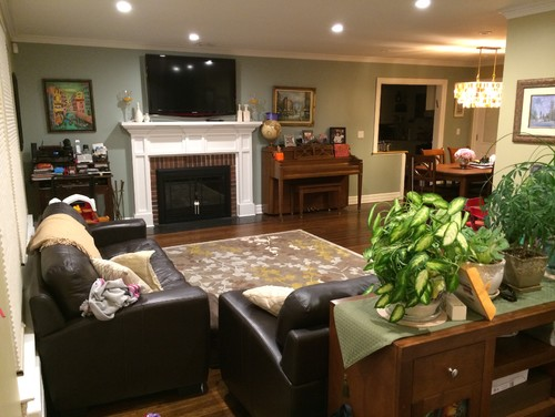 Please help declutter redeisgn my l shaped living room dining room - Help decorate my house ...