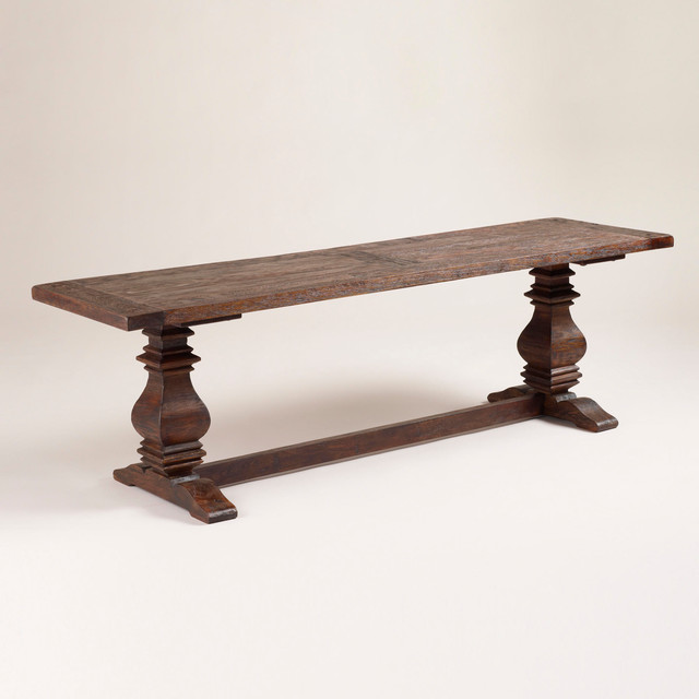 traditional benches by World Market