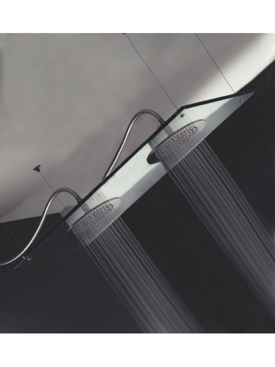 Saneux Glass Shower Head - Suitable for high pressure water systems with a minimum pressure of 3 bar or above.