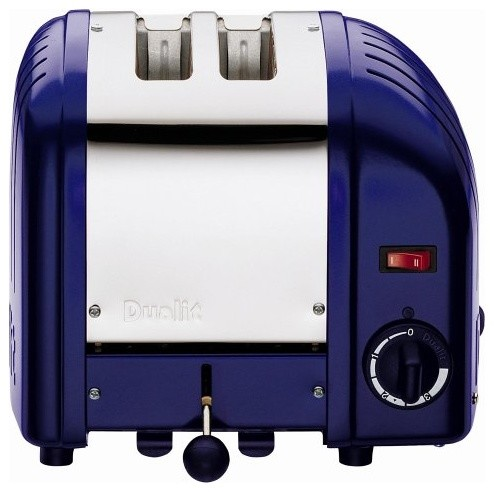 dualit classic 2 slice toaster cobalt blue modern. Black Bedroom Furniture Sets. Home Design Ideas