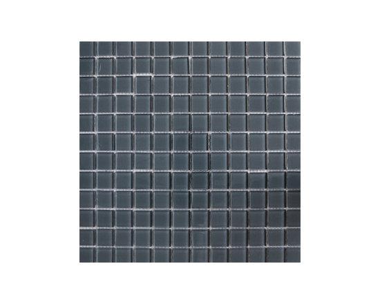 Snow Drift Grey Glass Mosaics -
