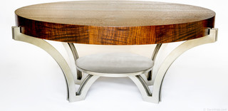 Manhattan Coffee Table Contemporary Coffee Tables Seattle By Sara Wise Design