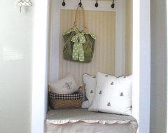shabby nest traditional-closet