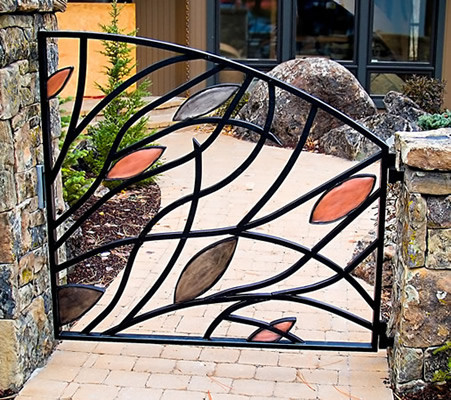 art metal gate. Black Bedroom Furniture Sets. Home Design Ideas
