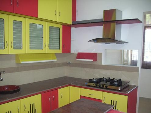 red and yellow kitchen modern modern kitchen other metro by