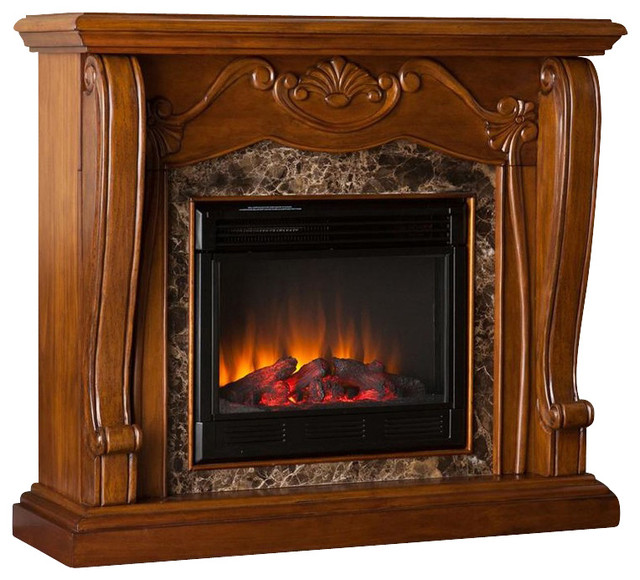 Taylor Electric Fireplace Victorian Indoor Fireplaces By Shopladder