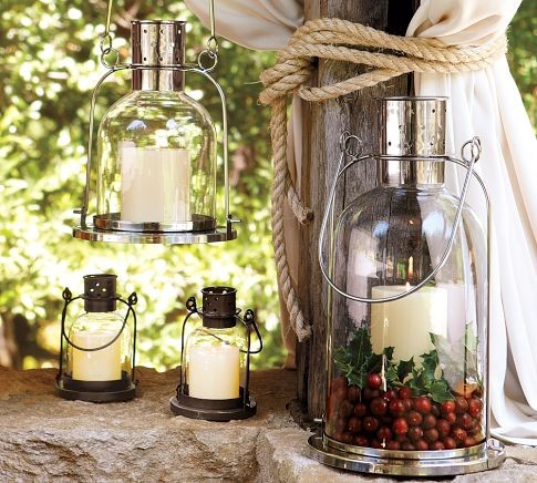 Arches Lantern contemporary candles and candle holders