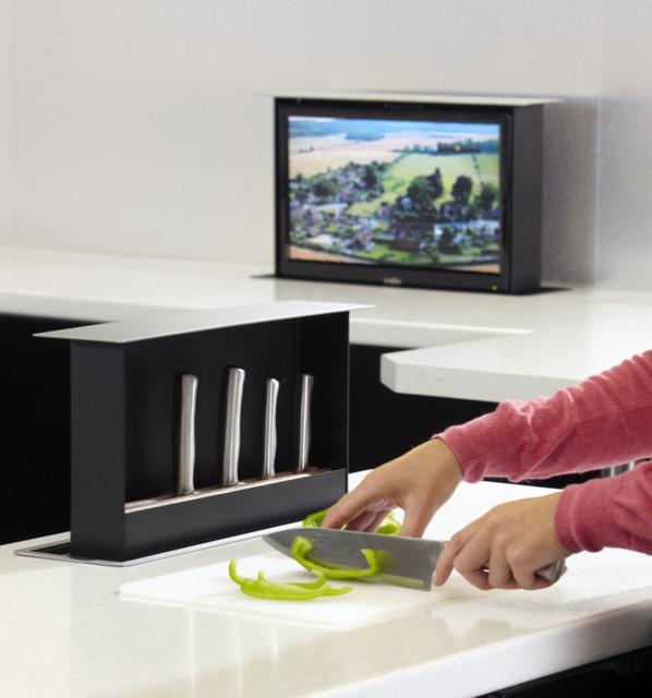 S-Box Pop-up Knife Storage modern-kitchen-drawer-organizers