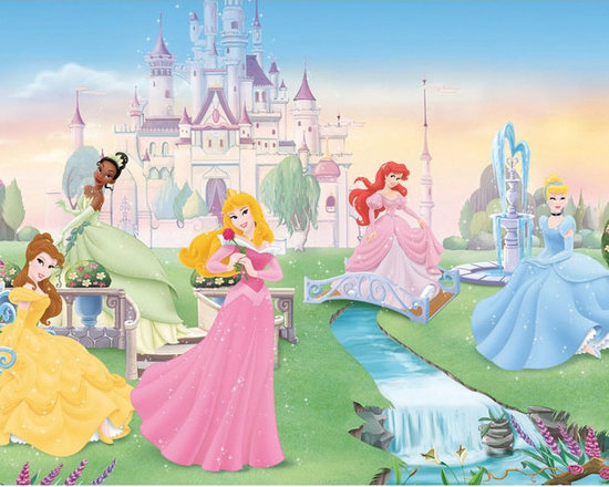 York Wallcoverings - Disney Dancing Princesses Large Prepasted Accent Wall Mural - Features: