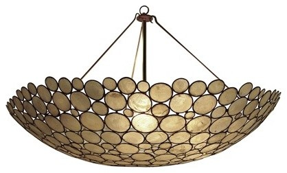 Serena Bowl Chandelier by Oly traditional-chandeliers