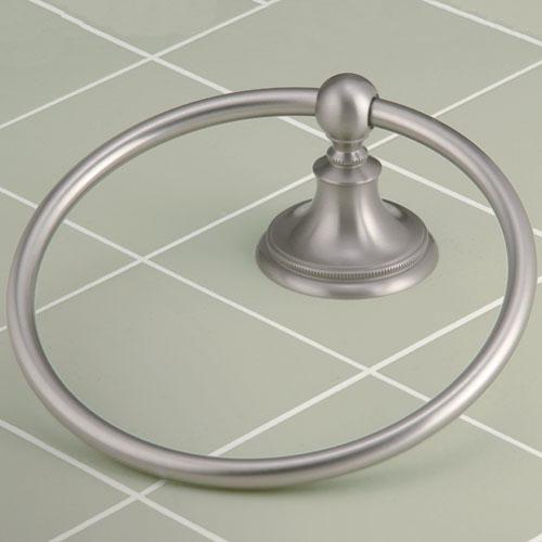 Laurel Avenue Towel Ring contemporary-towel-rings