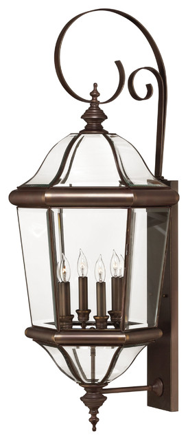 Augusta Extra Large Wall Outdoor Lantern contemporary-outdoor-lighting