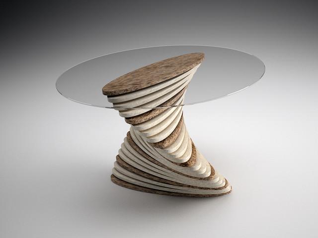 Table Base Quartz Marble Granite contemporary-coffee-tables