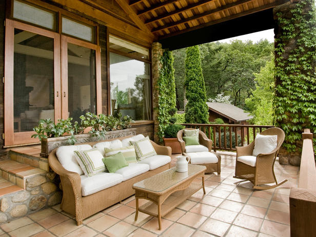 Design Tips for the Front Porch : Outdoors : Home & Garden Television porch