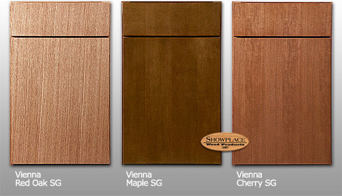 Cabinets: Vienna style   Straight grain species contemporary-kitchen ...