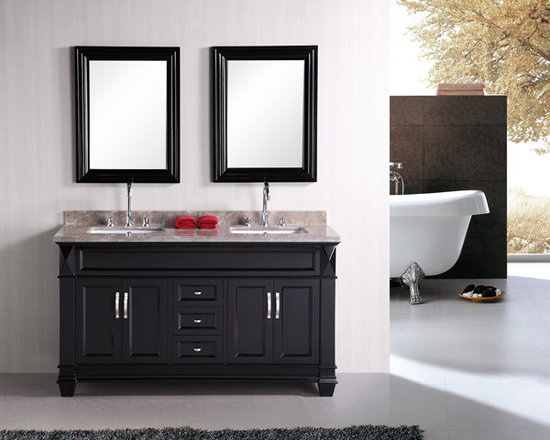 Double Sink Bathroom Vanity -