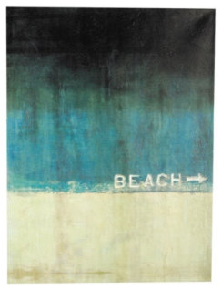 Beach This Way Giclee Print modern artwork