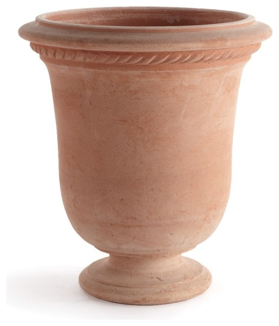 Impruneta Anduze Garden Pot In Terracotta Small Traditional Outdoor Pots