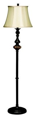 Kichler Clayton 74234 Floor Lamp - 16 in. - Restoration Bronze modern floor lamps