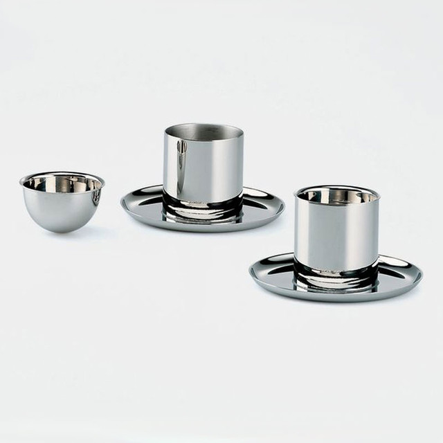 Alessi 90045 egg cup modern dinnerware by switch modern - Alessi dinnerware sets ...