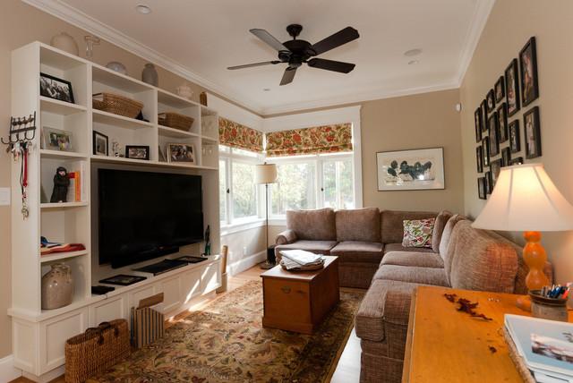 Interior Details & Millwork traditional-living-room