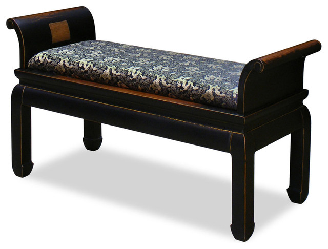 Elmwood Zhou Yi Bench