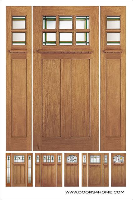 Arts Crafts Craftsman Doors Traditional Front Doors By Doors4home