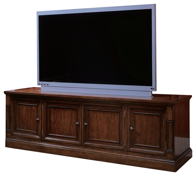 Entertainment Console 367 - Traditional - Entertainment Centers And Tv Stands - by Masins Furniture