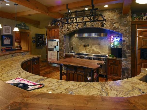 The Ultimate Mountain Home traditional