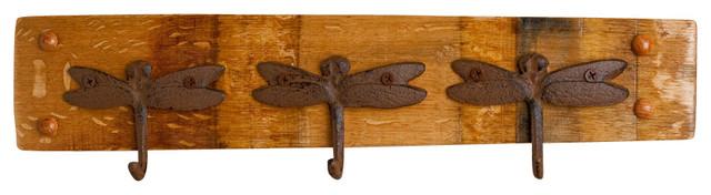 Dragonfly Key Rack farmhouse-hooks-and-hangers