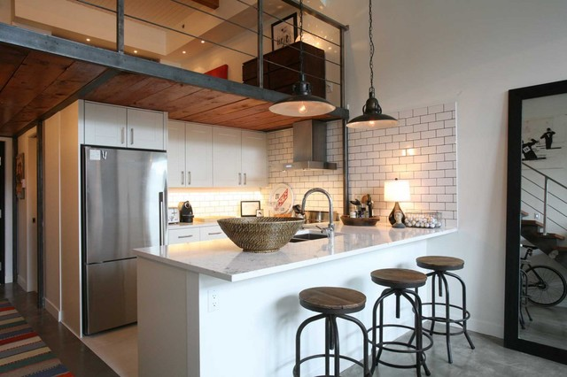 Oliver Simon Design Loft Project - industrial - NW 13th Avenue Loft - business - The Natural Kitchen: Oliver Simon Design Loft Project - industrial - kitchen Design Wooden Style, modern-day Concept with the aid of Scavolini - portland - through Jessica - Industrial Kitchen Design